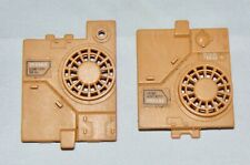Vintage 1985 Hasbro GI Joe Mauler Tank Engine Cover Left & Right Vehicle Part