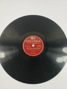 Lefty Frizzell - Country 78 RPM If You've Got The Money I've Got The Time VG+ A2