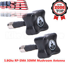 2X 5.8Ghz TBS Stubby RP-SMA 50MM Mushroom Antenna for RC FPV Drone Quadcopter US