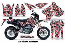 AMR Racing Suzuki Graphic Kit Bike Decal DRZ 400 SM Decal MX Part 00-15 URBAN R