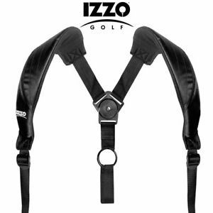 IZZO Golf Dual  Shoulder 'Comfort Swivel' Bag Carry /  Replacement Strap 2 Sizes