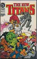 The New Titans #64 (Mar 1990, DC) 1st Print Wolfman Grummett Al Vey FN/VF