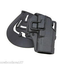 BlackHawk CQC Serpa Holster Glock 19 23 32 36 Matte Black 410502BK-R or Left