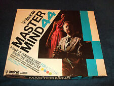 MASTERMIND 44 --BREAK THE CODE GAME BY INVICTA 1977