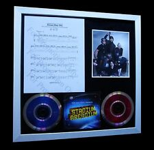 RED HOT CHILI PEPPERS Snow Hey Oh LTD Numbered CD GALLERY QUALITY FRAMED DISPLAY