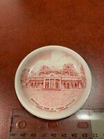 Adams Jonroth English Bone China Thomas Jefferson Monticello Mini Plate