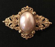No Theme Pearl (Imitation) Gold Vintage Costume Jewellery