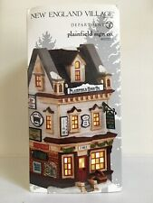 "Dept 56 New England Village ""Plainfield Sign Company"""
