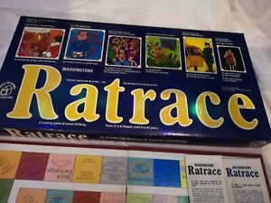 Vintage Waddingtons 1973 RATRACE Board Game.French/English Instructions.Complete