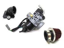 17,5mm Tuning Vergaser Kit inkl. Ansaugstutzen Luftfilter für Piaggio, Gilera