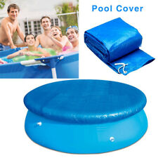6FT Round Swimming Pool Cover for Garden Outdoor Paddling Family Pools Cover