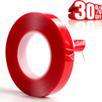 3M High Strength Double Sided Clear Gel Transparent Acrylic Adhesive Tape Home