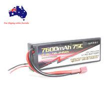 2s 7.4v 7600mAh 75C Vant Lipo Li-Po Battery Hard Case with Deans T plug Grade A