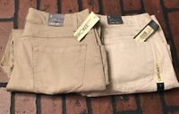 Cherokee Relaxed Fit Stretch Capri Size 8 Women's Lot Of 2