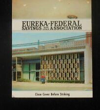 1960s Eureka-Federal Savings and Loan Association 3455 Forbes Ave. Oakland PA MB