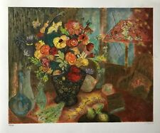 "S. FRANCIS ""TIFFANY LAMP"" LIMITED EDITION SERIGRAPH 285/350"