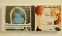 FRANÇOISE HARDY : BEST OF INEDIT + CLASSIQUE ♦ LOT DE 2 ALBUMS CD ♦
