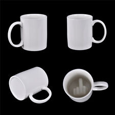 Up Yours Mug tasse du doigt moyen tasse de café + céramique Material Mug 6H