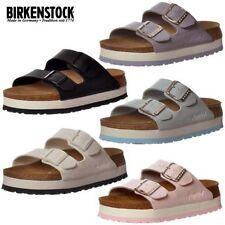 Sandali e scarpe infradito Birkenstock blu per il mare da donna