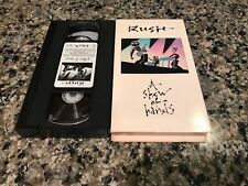 Rush A Show of Hands 1989 VHS rock music LIVE concert footage from Rush 14 songs