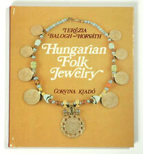 BOOK Hungarian Folk Jewelry antique ethnic costume necklace buckle Ottoman coin