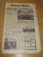 MELODY MAKER 1950 MAY 27 JACK NATHAN KATHLEEN STOBART JIM DAVIDSON JAZZ  +