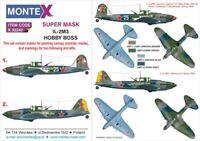 Montex Super Mask 1:32 IL-2 M-3 for Hobby Boss Kit Spraying Stencil #2 #K32242