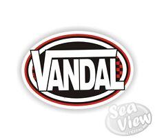 Vandal Vans Logo Remake Funny Humorous Car Van Stickers Decal Bumper Sticker