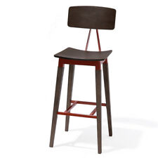 "NEW! ABBOTT CONTEMPORARY WOOD/STEEL BARSTOOL - 30"" SEAT HEIGHT BAR STOOL CHAIR"
