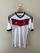 GERMANY 2014-15 Home Shirt (S) Adidas Vintage Retro Original Football Shirt