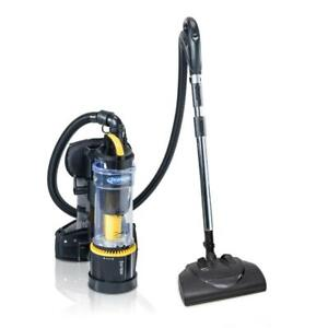 Backpack Vacuum Cleaner Power Nozzle Kit Commercial Bagless Corded 120 Volt