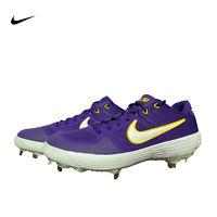 Nike Alpha Huarache Elite 2 LSU Tigers Baseball Cleats CT8428-501 Mens Size 11.5