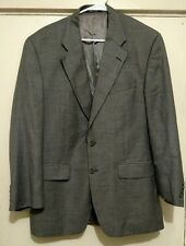 Ralph Ralph Lauren Two Button Gray Suit Jacket Size 42R and Pants Size 35x29