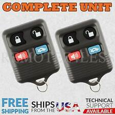 2 For 1999 2000 2001 2002 Lincoln Continental Keyless Entry Remote Car Key Fob