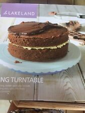 Icing turntable