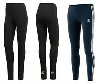 ADIDAS - ORIGINALS WOMENS STRIPE LEGGINGS LEGGINS JOGGING BOTTOMS RUNNING PANTS