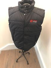 HAAS FORMULA ONE, FACTORY RACE TEAM  INSULATED VEST/GILLET, SIZE XL NEW!!