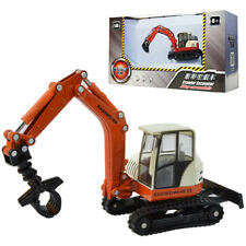 KDW 1:50 O Scale Diecast Tracked Grasping Cart Construction Vehicle Cars Model