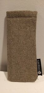 Peepers Eyeglass Case Reading Glasses Canvas Soft Squeeze Pouch - Free Ship!