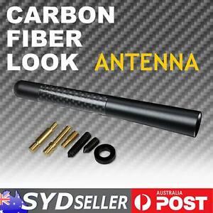 Carbon Fiber Cool Look AM FM Antenna Aerial For VW Golf MK3 MK4 MK5 R32 City GTI