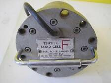 TENSILE LOAD CELL F FULL SCALE RANGES NORMAL 200/5800/1000/2000/5000/10000 LBS