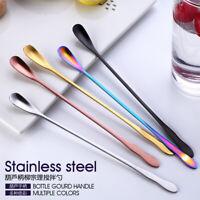 Stainless Steel Long Handle Spoon Creative Korean Coffee Ice Cream Dessert Spoon