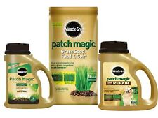 Scotts Miracle-Gro Patch Magic Grass Seed, Feed and Coir Bag Jug Dog Spot