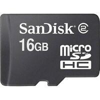 Micro-SD 16GB SPEICHERKARTE HANDY SPEICHER SDHC MIT SD-CARD ADAPTER NEU MICROSD