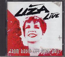 CD ALBUM LIZA MINNELLI / FROM RADIO CITY MUSIC HALL