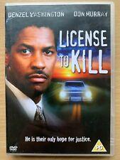 License to Kill 1984 DVD Denzel Washington Licence Drink Driving Drama Movie