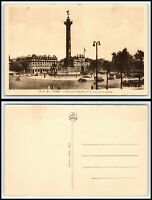 FRANCE Postcard - Paris, Place de la Bastille et la Colonne de Juillet AC