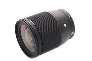 Sigma 16mm f/1.4 DC DN Contemporary: Micro Four Thirds