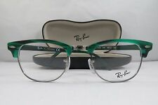 Ray-Ban RB 5154 5256 Clubmaster Green Stripped New Eyeglasses 49mm w/Case