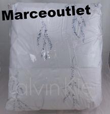 Calvin Klein Home Heather QUEEN Comforter & Pillowshams Set Fog Blue